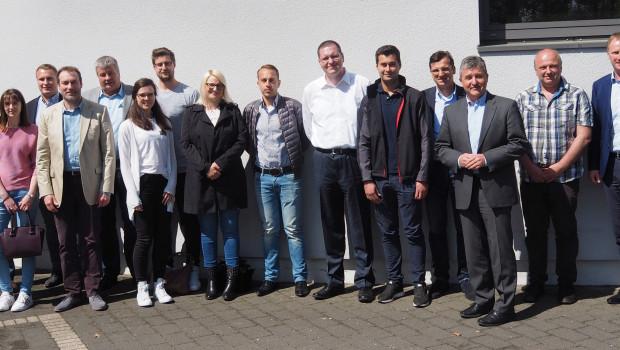 Die Teilnehmer der Kick-Off-Veranstaltung des Bauspezi-Ecommerce-Clubs.