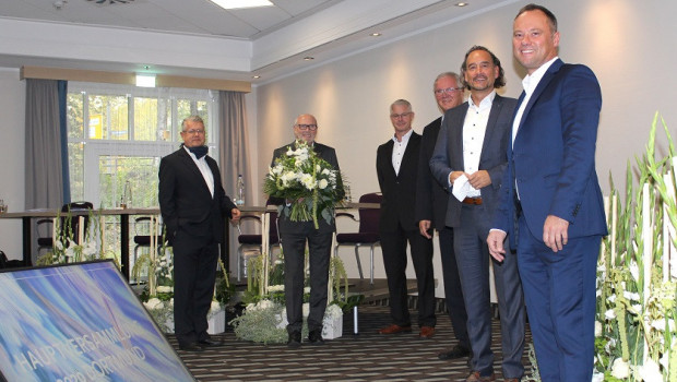 Der neue Aufsichtsrat besteht aus (von links)Lars Heindl, Helmut Piston, Karl Heinz Dautz, Michael Spiering, Axel Mauch und Alexander Wagner.