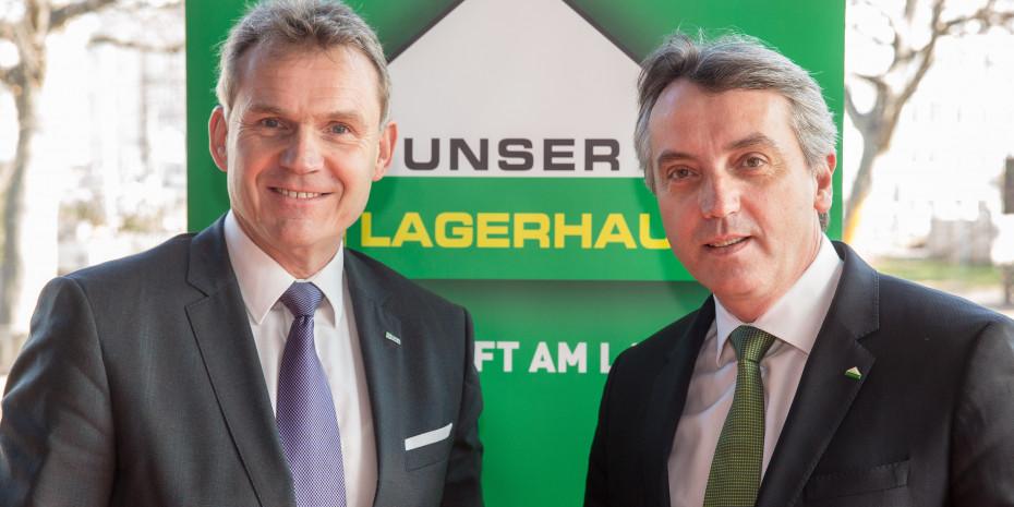 Stefan Mayerhofer (l.), RWA-Vorstandsdirektor, und Thomas Marx, AFS-Geschäftsführer