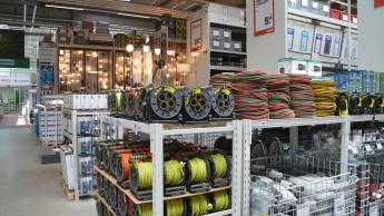 DIY-Umsatz mit nominal plus sieben Prozent im Juli