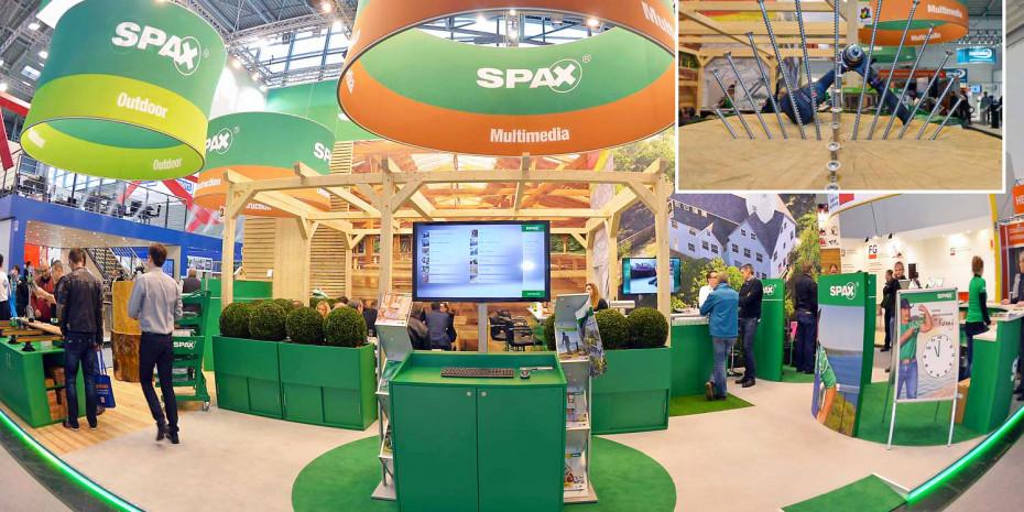 Spax, Messe Bau 2015