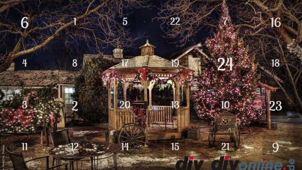 Weihnachten naht: Am 1. Dezember geht wieder der Adventskalender von diy online.