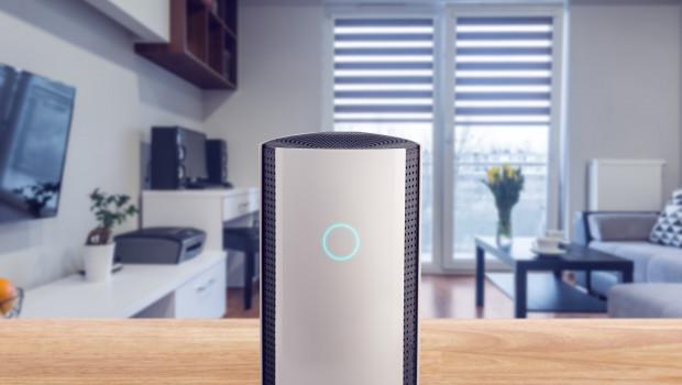 Beispiel Bitdefender Box: Das ist eine Hardware-Lösung für das Smart Home und schützt den kompletten Haushalt vor Cyber-Gefahren, so der Hersteller. Foto: obs/Bitdefender