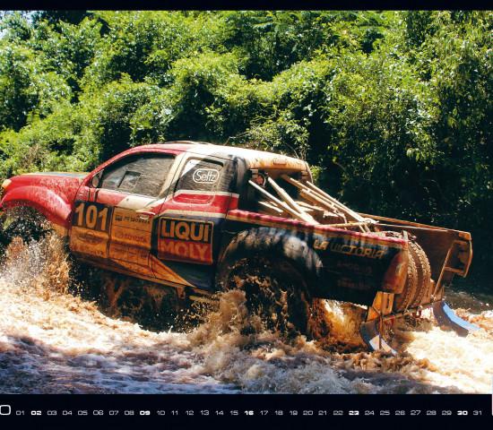 Ach ja, den gibt es auch noch: einen ganz normalen Liqui Moly-Jahreskalender 2020 mit Autosportmotiven.