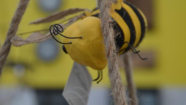 Das Thema Bienen schlägt sich mehr und mehr im Handel nieder.