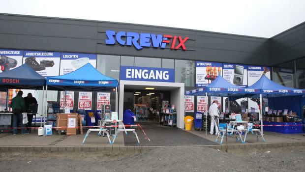 Kingfisher schließt nach Brancheninformationen seine 19 deutschen Screwfix-Niederlassungen.