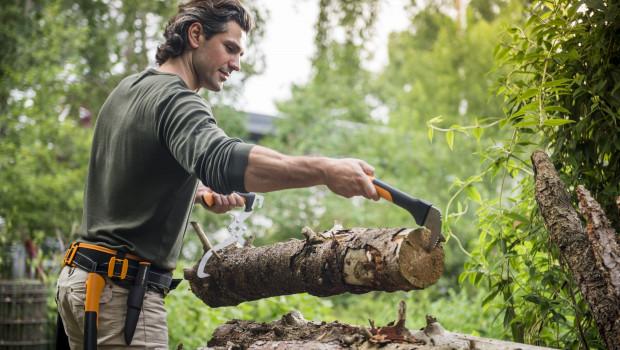 Das Sortiment Wood-Expert von Fiskars wurden gemeinsam mit Forstarbeitern entwickelt.