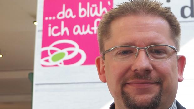 """In der Sagaflor-Zentrale ist nun Arne Warkocz für die Vertriebsmarke """"... da blüh' ich auf!"""" verantwortlich."""