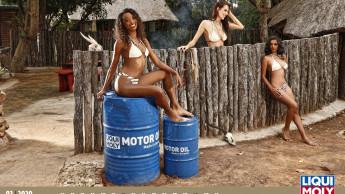 Liqui Moly ging für seinen Erotik-Kalender 2020 nach Südafrika