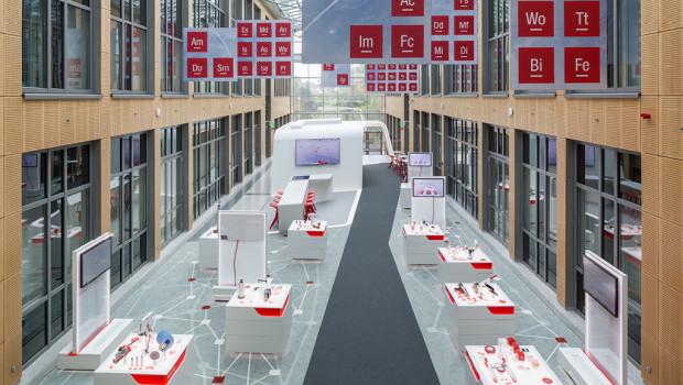 Statt in Produktlösungen wird im 3M Inspiration Lab in technologischen Möglichkeiten gedacht.