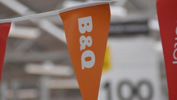 Die B&Q-Baumärkte haben für das zweite Quartal gute Zahlen abgeliefert.