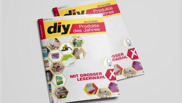 """Das Layout des Supplements """"diy Produkte des Jahres"""" wurde für die aktuelle Ausgabe überarbeitet."""