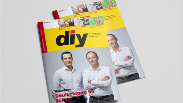 Die ManoMano-Gründer sind auf der Titelseite der aktuellen diy-Ausgabe.