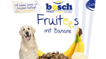 Fruchtige Hundesnacks zur Belohnung