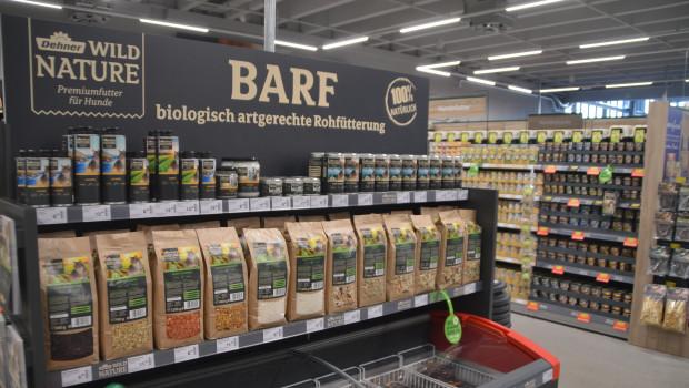 Barfen, das Füttern mit Rohfleisch, ist nach wie vor ein Trend im Heimtiermarkt.