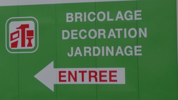 Rekordnachfrage auch in Frankreich: Heimwerken, Heimverschönerung, Garten.