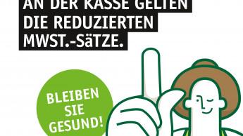 Sagaflor empfiehlt Weitergabe der Mehrwertsteuer-Senkung
