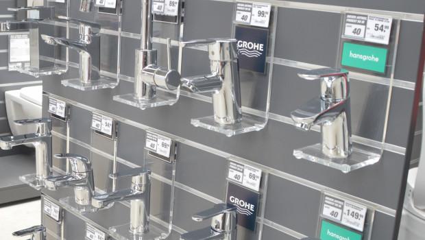 Sanitärarmaturen und Duschsysteme stehen für eine Umsatzvolumen von fast zwei Milliarden Euro.