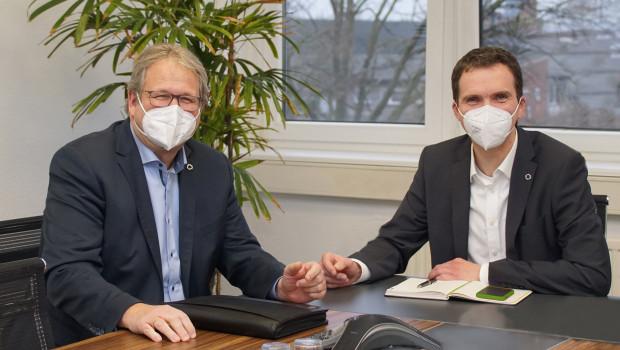 Jörg Kronenberg (links) und Marcus Brandt (rechts) sowie die Bauvista-Mitarbeiter stehen ihren Gesellschaftern mit Rat und Tat zur Seite.