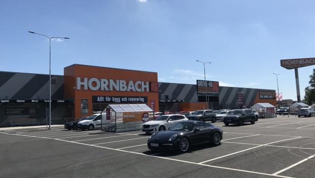 Heute macht im schwedischen Trollhättan ein neuer Hornbach-Projektmarkt auf.