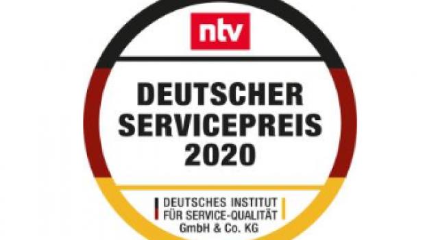Der Deutsche Servicepreis 2020 wurde gestern in Berlin vergeben.