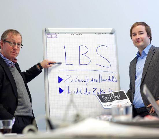 Prof. Gerrit Heinemann (l.) und Christan Gaiser