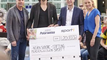 Schöner Wohnen-Farbe spendet 20.000 Euro