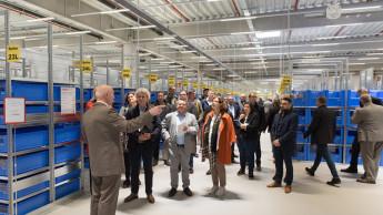 Neues Häfele-Logistikzentrum bei Hannover