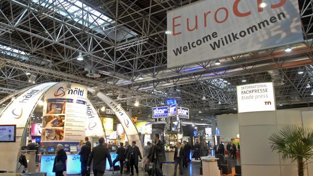 Die Euro-Cis findet erstmals in zwei Hallen statt.