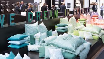 Heimtextil in Frankfurt mit Aussteller-Zuwachs eröffnet