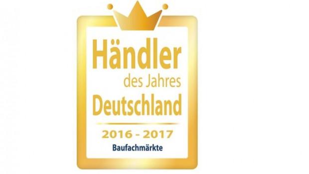 """Toom wurde """"Händler des Jahres 2016/2017""""."""
