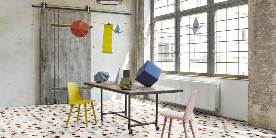 Boden Ena aus der Floor Fields Design Edition