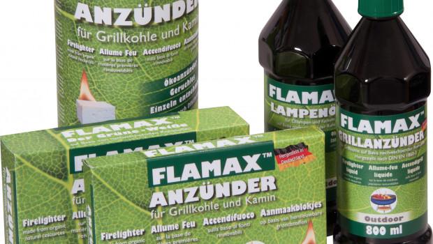 Carl Warrlich GmbH, Flamax Der Grüne-Weiße Grillanzünder