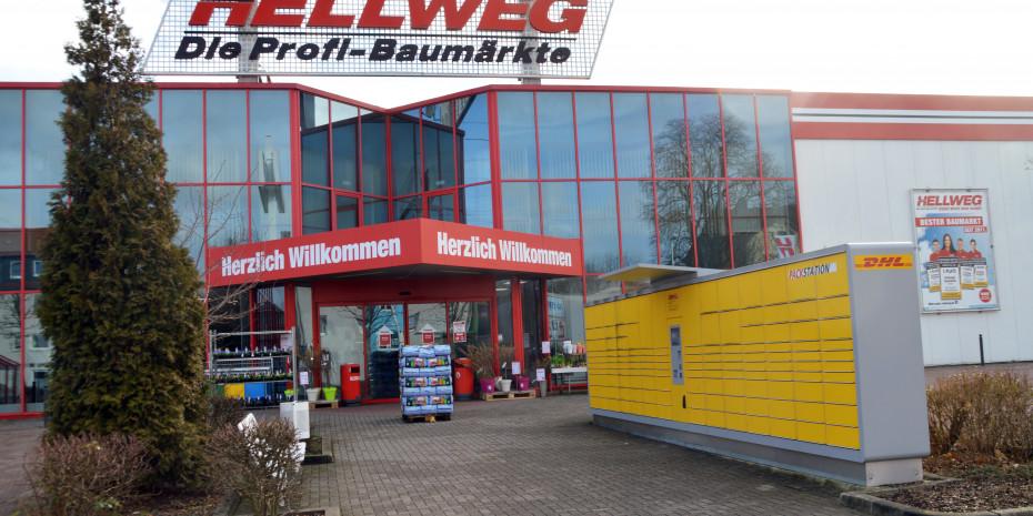 Hellweg, DHL-Packstation