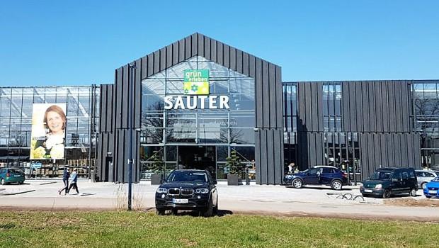 """Das neue """"grün erleben""""-Gartencenter in Lahr ist die dritte Filiale der Familie Sauter."""