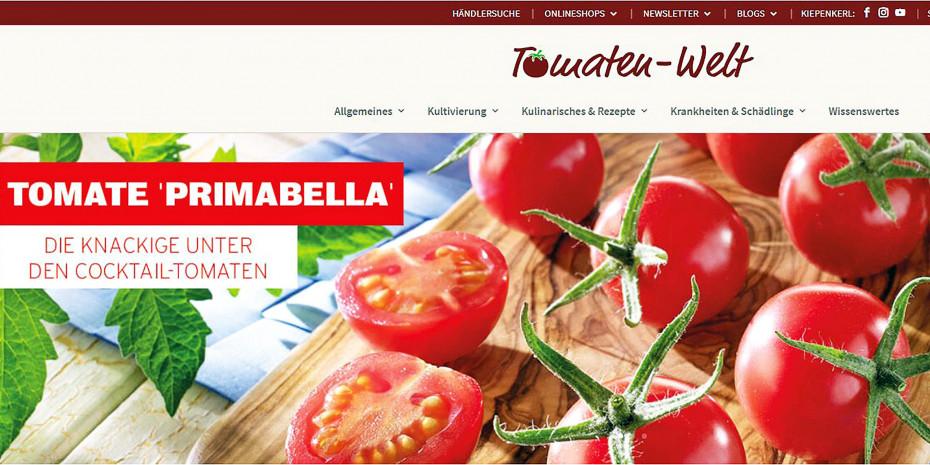 Den bestens vernetzten jungen Zielgruppen bietet das Unternehmen Infos und Anregungen auf seinen Themenforen wie tomaten-welt.de.