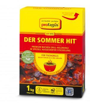 Pro Fagus, Premium Buchen Grill-Holzkohle Der Sommerhit