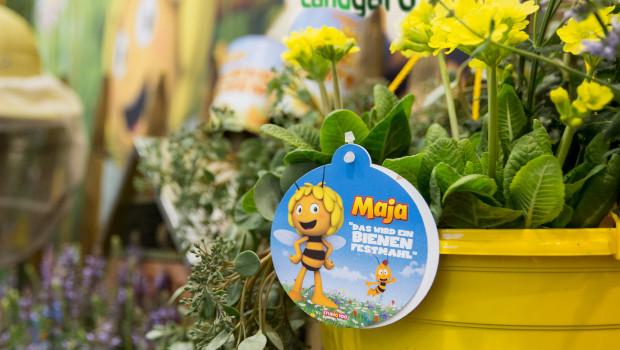 Die Lizenzkooperation mit der Fernsehmarke Biene Maja ist eines der Verkaufskonzepte, die von der Landgard unter dem Aspekt Nachhaltigkeit gesehen werden.