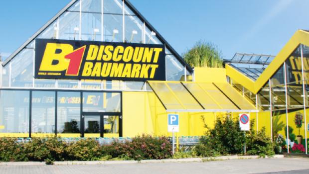 """Für Focus Money sind die B1 Bau-Discount-Standorte die """"Kundenlieblinge 2018""""."""