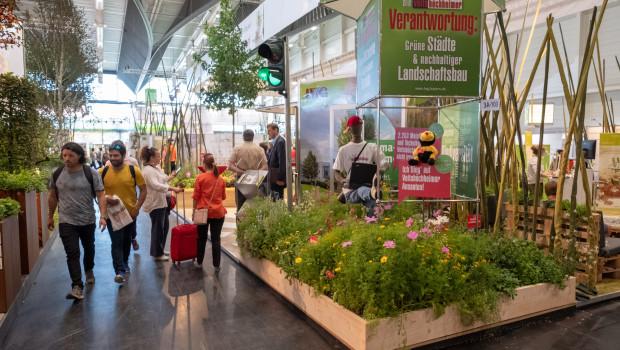 Die Galabau findet alle zwei Jahre in Nürnberg statt. In diesem Jahr fällt sie wegen der Corona-Pandemie aus.