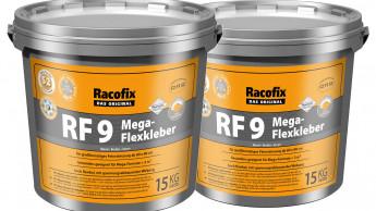 Ideal für was Großes: Der neue Racofix RF 9 Mega-Flexkleber