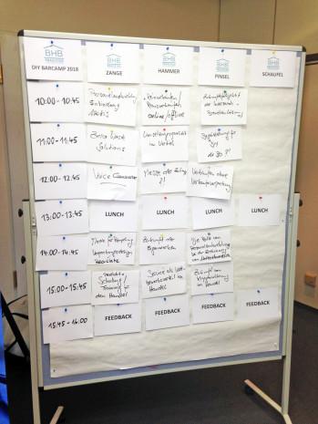 Praxistag BHB, Barcamp