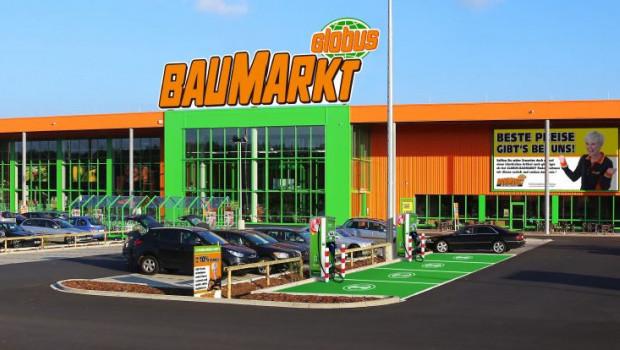 Baumarkt-Kunden können künftig während des Einkaufs ihr E-Auto aufladen.