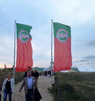 Die Hagebau am Nordseestrand: Ein Bild vom Vorabend der Gesellschafterversammlung der Kooperation in Amsterdam.