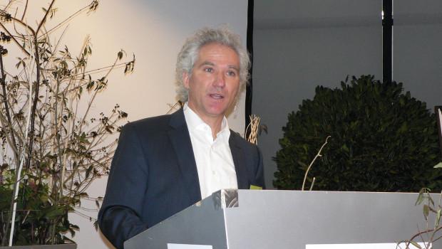 VDG-Vorsitzender Eckhard Heinemann konnte  mehr als 230 Teilnehmer auf der Wintertagung des Verbands begrüßen.