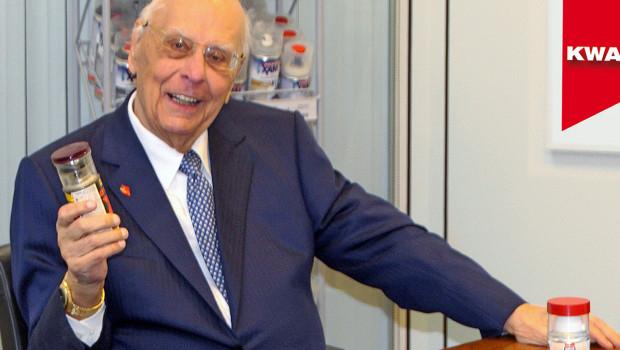 Peter Kwasny feiert heute seinen 90. Geburtstag.