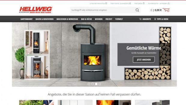 So sieht der Sieger aus: Hellweg.de wurde vom Deutschen Institut für Service-Qualität als bester Online-Shop der Baumarktbetreiber ermittelt.