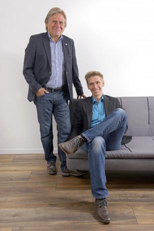 Heinrich und Andreas Koczwara, Geschäftsführer