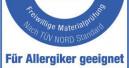 Allergiker-Siegel für Raufaser