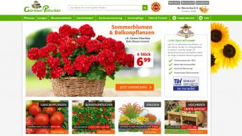 Gärtner Pötschke hat den besten Online-Shop